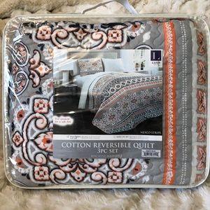 Lush decor quilt 3 piece set